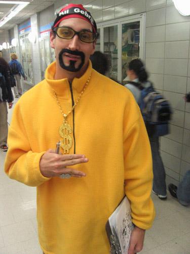Borat halloween costume
